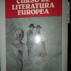 Libros de segunda mano: CURSO DE LITERATURA EUROPEA, VLADIMIR NABOKOV, EDICIONES B. Lote 98645511