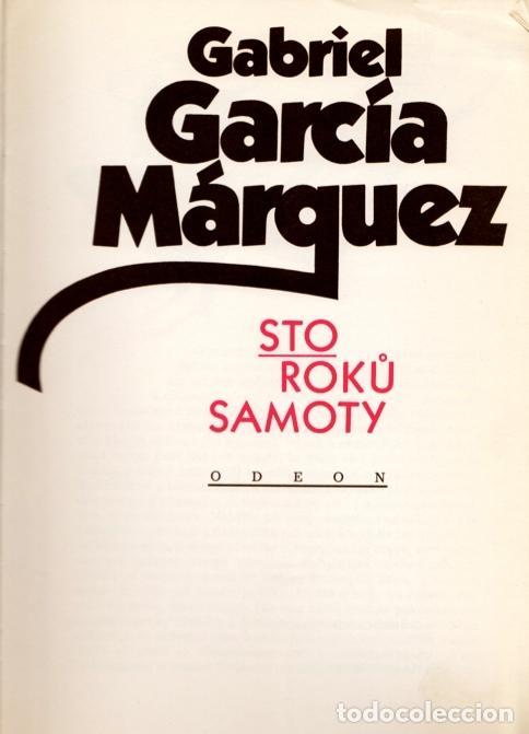 Libros de segunda mano: CIEN AÑOS DE SOLEDAD (STO ROKÜ SAMOTY). GABRIEL GARCÍA MARQUEZ. PRIMERÍSIMA EDICIÓN EN RUMANO - Foto 5 - 99386587