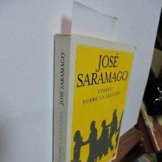Libros de segunda mano: ENSAYO SOBRE LA CEGUERA. SARAMAGO, JOSÉ. ED. SANTILLANA. BARCELONA 2010. Lote 100934747
