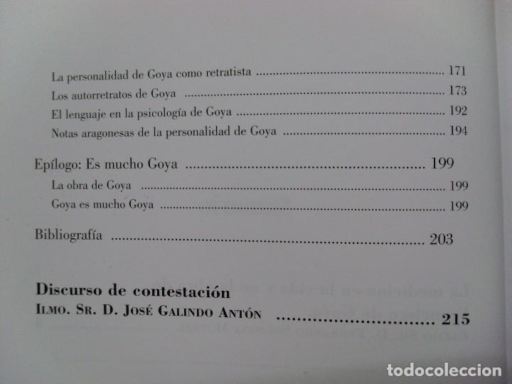 Libros de segunda mano: LA MEDICINA EN LA VIDA Y EN LA VIDA DE FRANCISCO DE GOYA / Fernando Solsona Motrel / 2010 - Foto 5 - 102088223