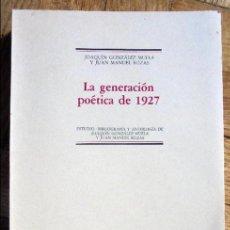 Libros de segunda mano - La Generación poética de 1927 - 102637471