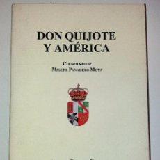 Libros de segunda mano: DON QUIJOTE Y AMÉRICA - AA.VV. Lote 102786003