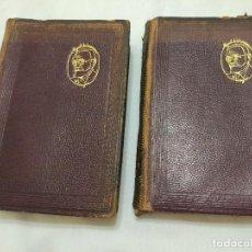 Libros de segunda mano: MIGUEL DE UNAMUNO ENSAYOS DOS TOMOS AGUILAR 1945 MADRID. Lote 103395555