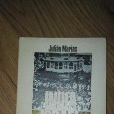 Libros de segunda mano: INDIA, ISRAEL. JULIÁN MARÍAS.. Lote 103801579