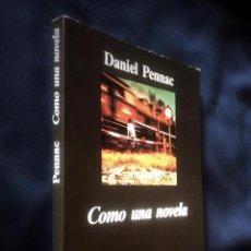 Libros de segunda mano: COMO UNA NOVELA | DANIEL PENNAC | ANAGRAMA 1993. Lote 104343591