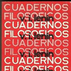 Libros de segunda mano: LENIN - CUADERNOS FILOSOFICOS. Lote 109865391