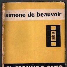 Libros de segunda mano: EL SEGUNDO SEXO SIMONE DE BEAUVOIR. Lote 110045079