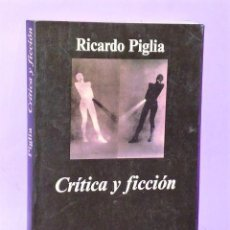 Libros de segunda mano: CRÍTICA Y FICCIÓN.. Lote 111463955