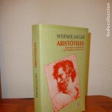 Libros de segunda mano: ARISTÓTELES - WERNER JAEGER - FONDO DE CULTURA ECONÓMICA, COMO NUEVO. Lote 112792503