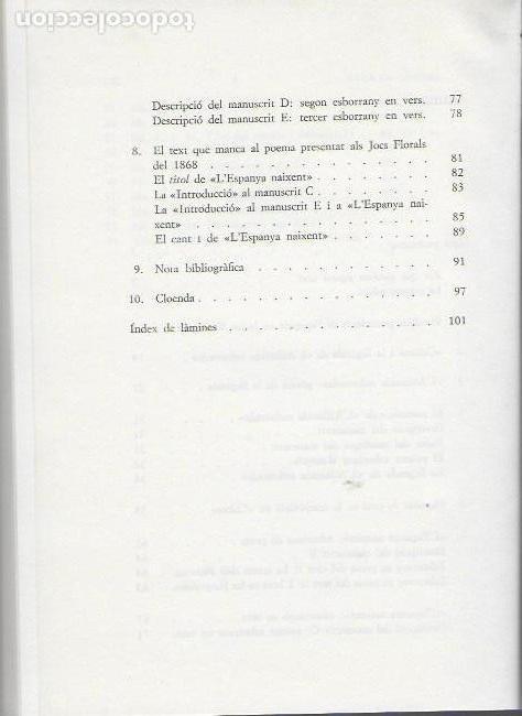 Libros de segunda mano: La genesi de l Atlantida / M. Condeminas. BCN : Universitat, 1978. 22x16cm. 102 p. + - Foto 3 - 112901987