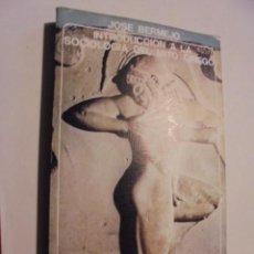 Libros de segunda mano: INTRODUCCION A LA SOCIOLOGIA DEL MITO GRIEGO / BERMEJO - AKAL 1979 - STOCK LIBRERIA IMPECABLE ESTADO. Lote 113126163