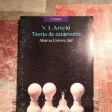 Libros de segunda mano: TEORÍA DE CATÁSTROFES - V. I. ARNOLD. Lote 114349511