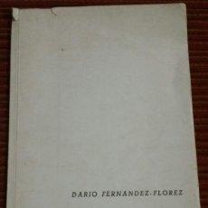Libros de segunda mano: NEBULOSA DE UN NOVELISTA. FERNANDEZ FLOREZ. DARIO.. Lote 115322971