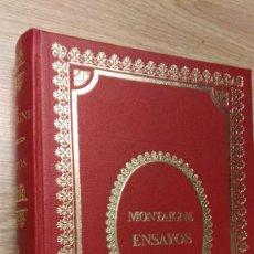 Libros de segunda mano: ENSAYOS. MONTAIGNE. E.D.A.F., 1971.. Lote 115555735