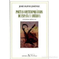Gebrauchte Bücher - Poetas contemporáneos de España y América - José Olivio Jiménez Rodríguez - 115743043