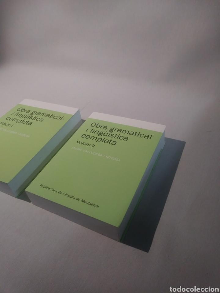 Libros de segunda mano: Obra gramatical i lingüística completa, Volum 1 y 2 (Textos i Estudis de Cultura Catalana) - Foto 2 - 118009183