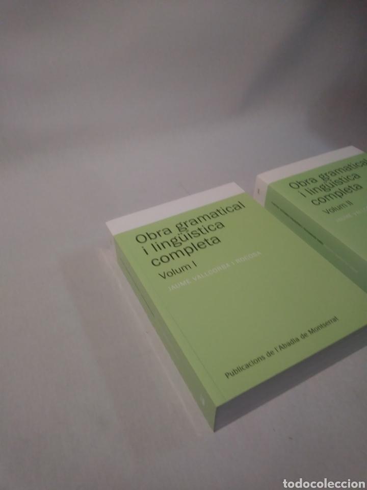 Libros de segunda mano: Obra gramatical i lingüística completa, Volum 1 y 2 (Textos i Estudis de Cultura Catalana) - Foto 3 - 118009183