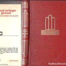 Libros de segunda mano: ORTEGA Y GASSET : MEDITACIONES DEL QUIJOTE (AGUILAR CRISOL LITERARIO, 1975). Lote 119432647
