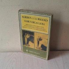 Libros de segunda mano: MARIO VARGAS LLOSA - AGRESION A LA REALIDAD - INVENTARIO PROVISIONALES 1971. Lote 119528935
