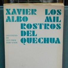 Livres d'occasion: LMV - LOS MIL ROSTROS DEL QUECHUA, SOCIOLINGÜISTICA DE COCHABAMBA. XAVIER ALBO. Lote 121125195