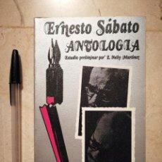 Libros de segunda mano: LIBRO - ERNESTO SABATO - VARIOS - ANTOLOGIA -- POCKET EDHASA - 1978 . Lote 121678627