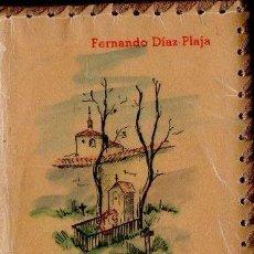 Libros de segunda mano: FERNANDO DÍAZ PLAJA : LA MUERTE EN LA POESÍA ESPAÑOLA (AFRODISIO AGUADO, S. F.). Lote 122222415