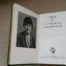Libros de segunda mano: OBRAS COMPLETAS K. MANSFIELD. Lote 124624180