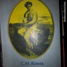 Libros de segunda mano: LA IMAGINACIÓN ROMÁNTICA, C.M. BOWRA, ED. TAURUS. Lote 125930531