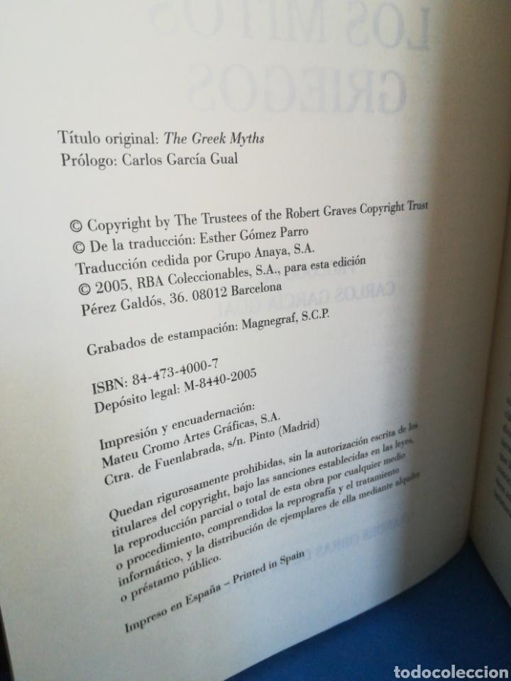 Gebrauchte Bücher: Los mitos griegos - Robert Graves - RBA, 2005 - Foto 4 - 126028415