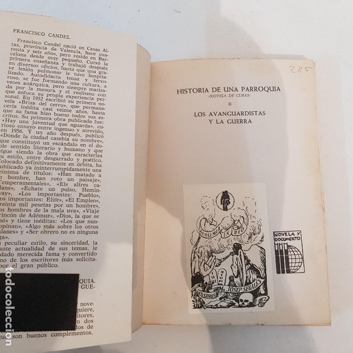 Libros de segunda mano: HISTORIA DE UNA PARROQUIA- F. CANDEL . 1971 - Foto 2 - 126054287