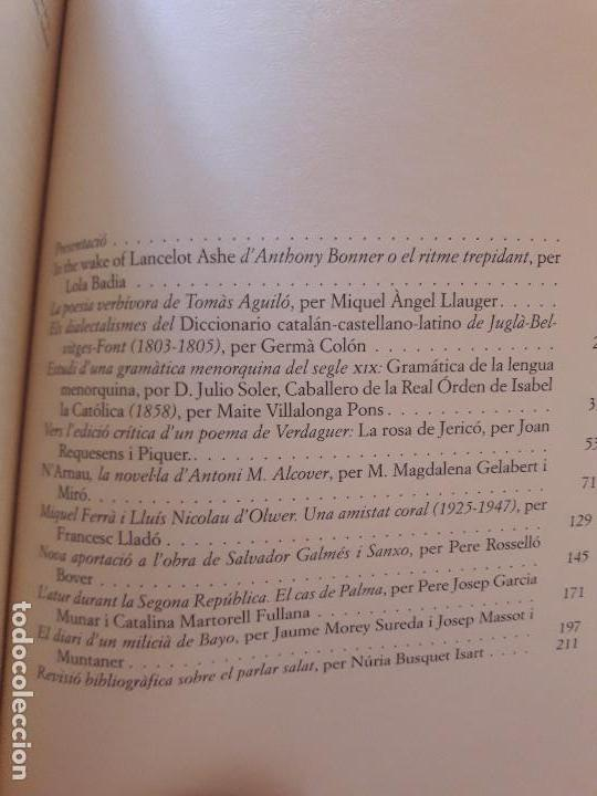 Libros de segunda mano: Randa Homenatge a Anthony Bonner - Foto 3 - 127624531