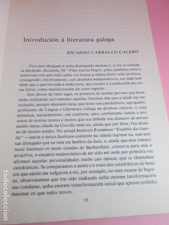 Libros de segunda mano: libro-a nosa literatura-unha interpretación para hoxe-1982-os xoves literarios-a.c.alexandre bóveda- - Foto 3 - 127978855