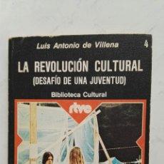 Libros de segunda mano: LA REVOLUCIÓN CULTURAL (DESAFÍO DE UNA JUVENTUD). Lote 128426378