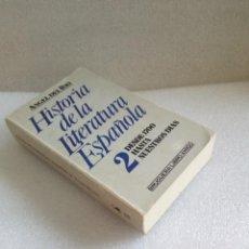 Libros de segunda mano: HISTORIA DE LA LITERATURA ESPAÑOLA 2. DESDE 1700. ÁNGEL DEL RÍO BRUGUERA SIN LEER . Lote 128456951