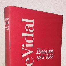 Libros de segunda mano: VIDAL, GORE: ENSAYOS (1982-1988) (EDHASA) (LB). Lote 128891847