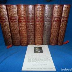 Libros de segunda mano: (MF) PIO BAROJA - OBRAS COMPLETAS ( 8 TOMOS ) COMPLETO , BIBLIOTECA NUEVA , MADRID 1946. Lote 130433102