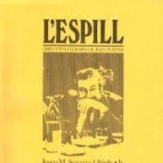Libros de segunda mano: L'ESPILL. Nº 10/11. ESTIU / TARDOR. 1981. Lote 131582370