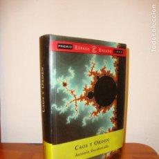 Libros de segunda mano: CAOS Y ORDEN - ANTONIO ESCOHOTADO - PLANETA, MUY BUEN ESTADO. Lote 131658790