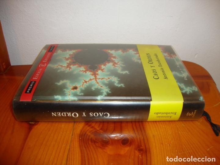 Libros de segunda mano: CAOS Y ORDEN - ANTONIO ESCOHOTADO - PLANETA, MUY BUEN ESTADO - Foto 2 - 131658790