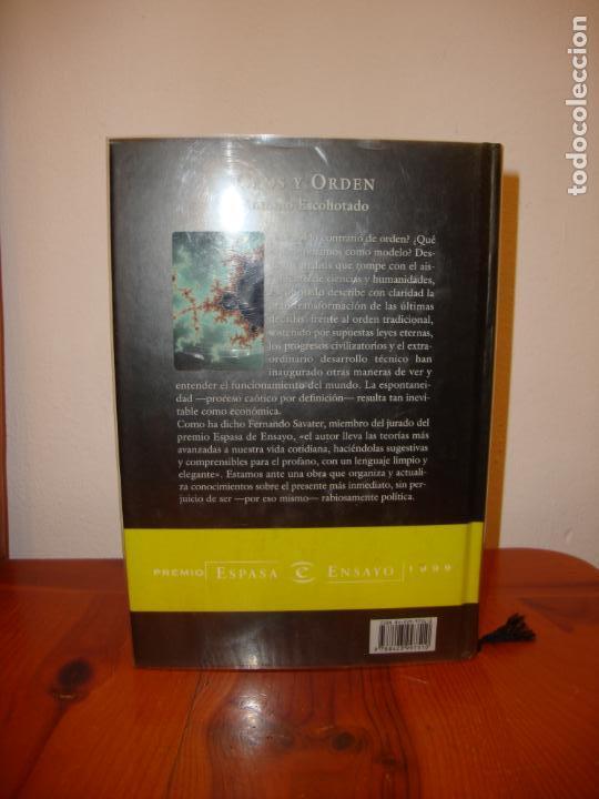 Libros de segunda mano: CAOS Y ORDEN - ANTONIO ESCOHOTADO - PLANETA, MUY BUEN ESTADO - Foto 3 - 131658790
