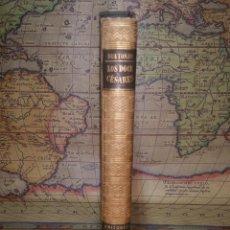 Libros de segunda mano: LOS DOCE CESARES. CAYO SUETONIO TRANQUILO. 1945. OBRAS MAESTRAS. Lote 132384978