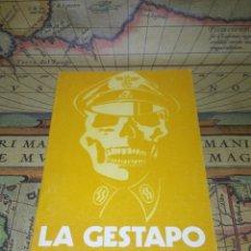 Libros de segunda mano: LA GESTAPO - MARIA DEL PILAR BUENO. Lote 133260810