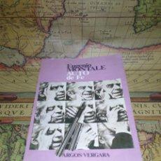 Libros de segunda mano: AUTO DE FE- EUGENIO MONTALE- 1ª EDICION 1977. Lote 133746494
