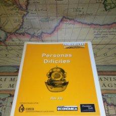 Libros de segunda mano: PERSONAS DIFÍCILES - JAY,ROS. Lote 133801194