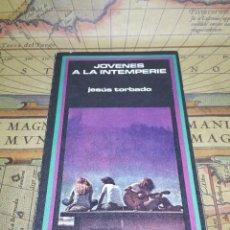 Libros de segunda mano: JÓVENES A LA INTEMPERIE - JESÚS TORBADO.. Lote 133829586