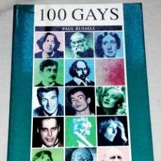 Libros de segunda mano: 100 GAYS; PAUL RUSSELL - EDITORIAL JUVENTUD, PRIMERA EDICIÓN 1997. Lote 134048442