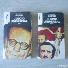 Libros de segunda mano: JUICIO UNIVERSAL - GIOVANNI PAPINI. Lote 134392326