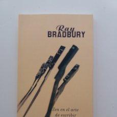 Livros em segunda mão: ZEN EN EL ARTE DE ESCRIBIR, RAY BRADBURY, IMPECABLE, COMO NUEVO. Lote 232073405