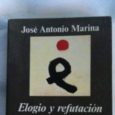Libros de segunda mano: ELOGIO Y REFUTACIÓN DEL INGENIO. Lote 135368531