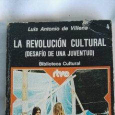 Libros de segunda mano: LA REVOLUCIÓN CULTURAL. Lote 135372619